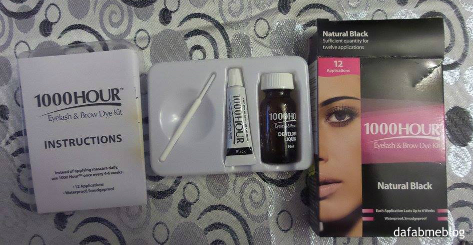 1000hour Eyelash And Brow Dye Kit Review